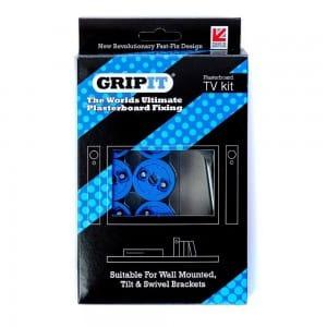 Grip It TV Kit boxed