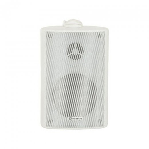 "Adastra BP4V 4"" Outdoor Speaker White 100V"