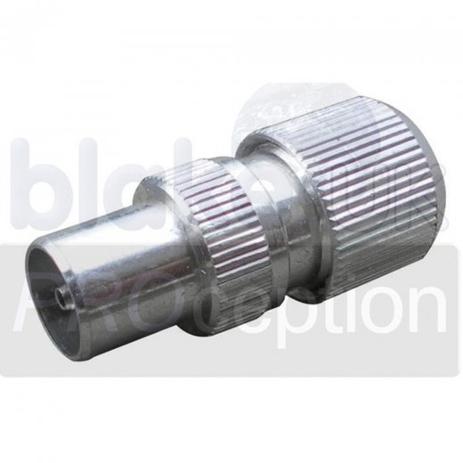 Blake UK IEC Male Aluminium Coax Plug for RG6 (Box 50)