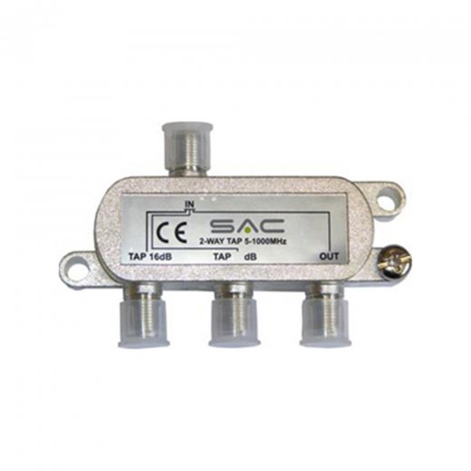 SAC Electronics SAC 2 way Tap. 8dB. Class A shielded