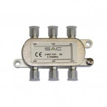 SAC 4 Way Tap - 16dB - Class A shielded