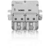 Televes 3 Way Splitter Easy-F 5-2400MHz DC Pass
