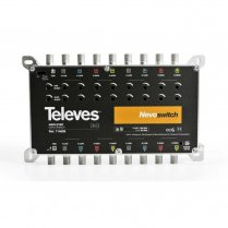Televes 9x9 Multiswitches Amplifier 21dB SAT 17dB Terr