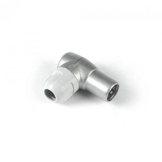 Televes IEC Connectors Coax Plug Male - Elbow - Fully Shield