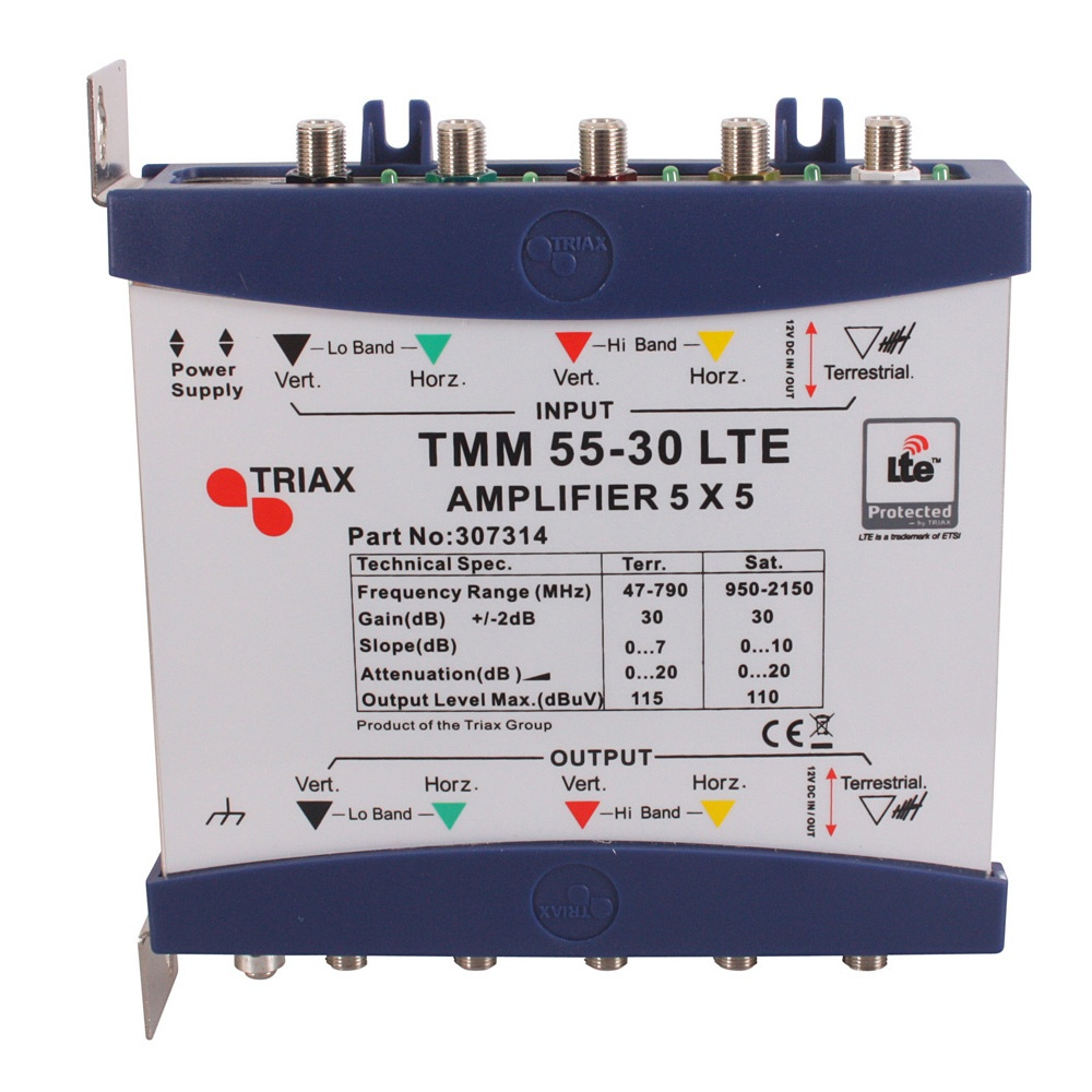 triax lte tmm 55 30 multiswitch amplifier p653 592_image triax tmp 5 x 8 lte mains powered multiswitch 305371 @ tradeworks triax multiswitch wiring diagram at creativeand.co