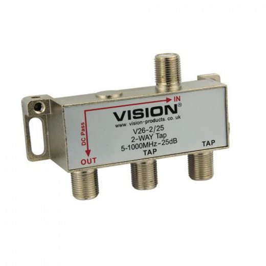 Vision 2-Way 25dB MATV Tap