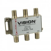 Vision 4-Way 20dB MATV Tap