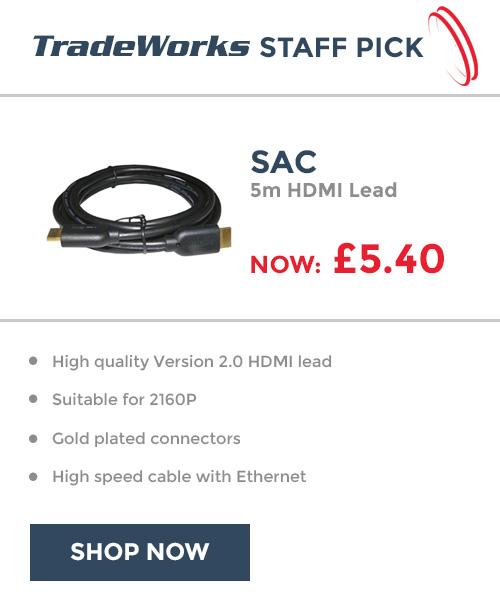 Staff Pick SAC 5m HDMI Lead